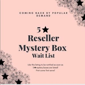 MORE 5 ⭐️ MYSTERY BOXES COMING SOON